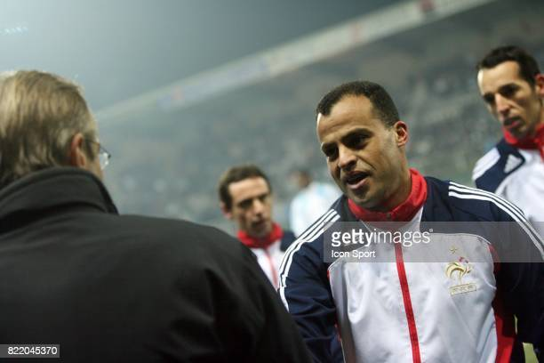Frederic THIRIEZ / Said ENNJIMI Auxerre / Marseille 20 eme journee de Ligue 1