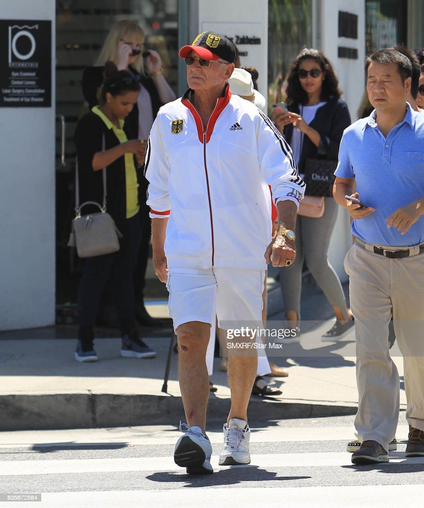 Frederic von Anhalt is seen on August 19, 2017 in Los Angeles, California