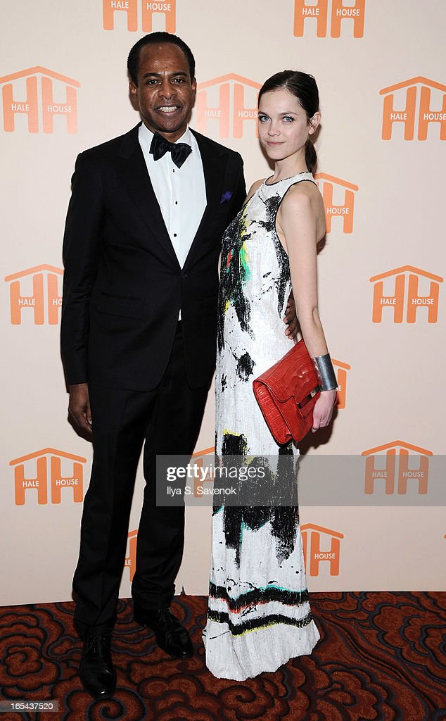 Frederick Anderson and Alecta Hill attend The 2013 Hale House Spring Gala at Mandarin Oriental Hotel on April 3, 2013 in New York City.