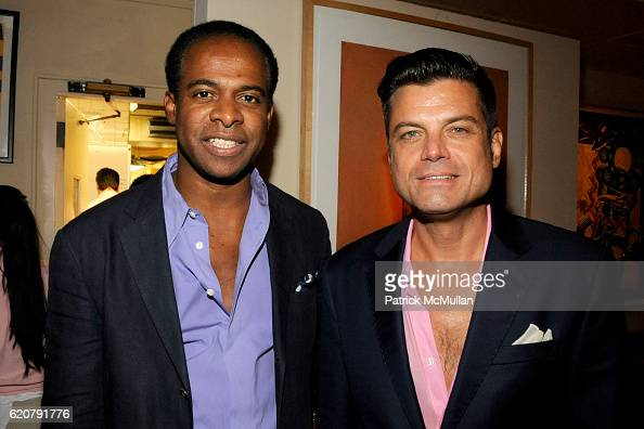 Frederick Anderson and Douglas Hannant attend 'PARTY FAVORS' by Nicole Sexton Book Release Party at Michael's on July 29 2008 in New York City