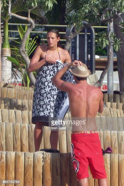 Frederick BOUSQUET / Laure MANAUDOU Plage de Boucan Canot La Reunion
