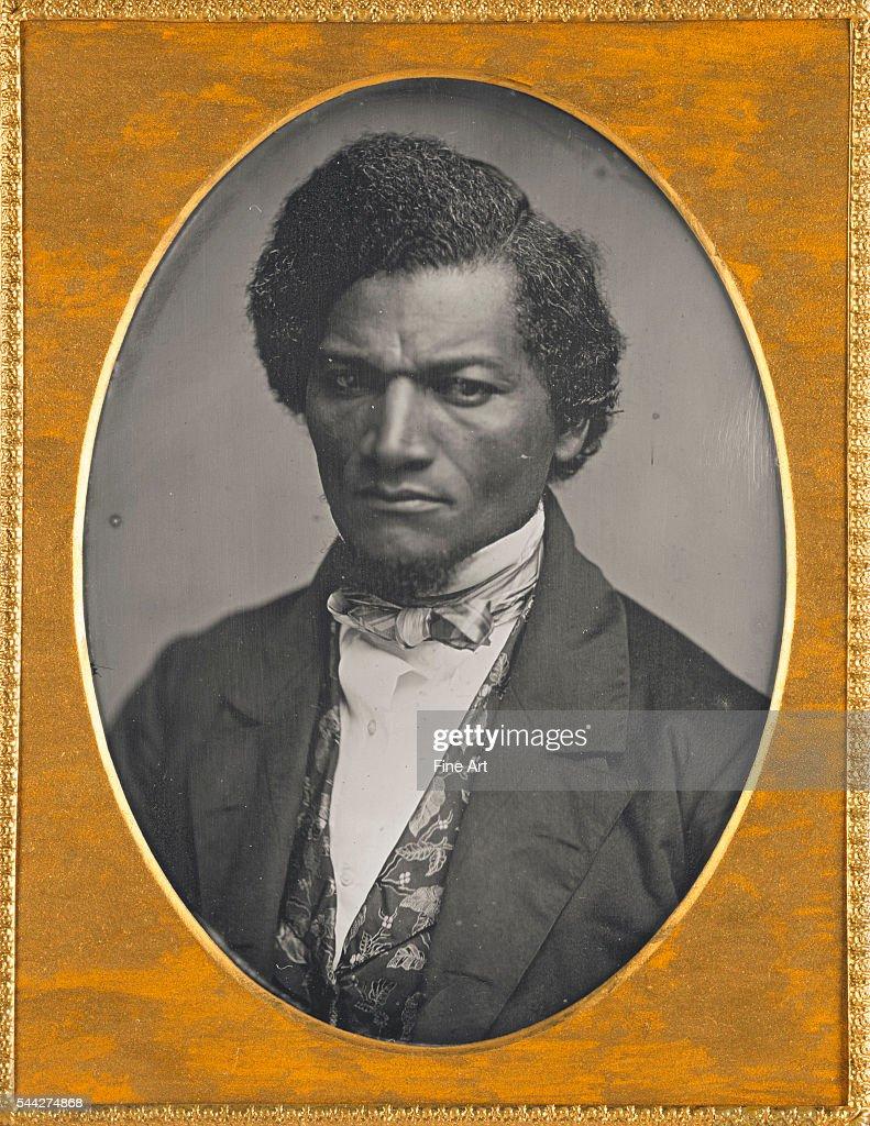 Frederick Douglass quarterplate daguerreotype 14 x 106 cm