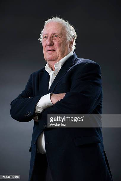 Frederick Forsyth attends the Edinburgh International Book Festival on August 16 2016 in Edinburgh Scotland The Edinburgh International Book Festival...