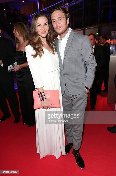 Frederic Lau and his wife Annika Kipp during the Bambi Awards 2015 at Stage Theater on November 12 2015 in Berlin Germany