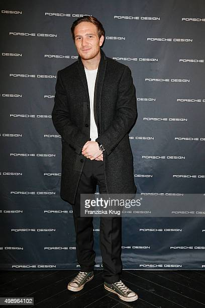 Frederick Lau attends the Porsche Design Presents Innovations at the Porsche Design Store on November 27 2015 in Berlin Germany