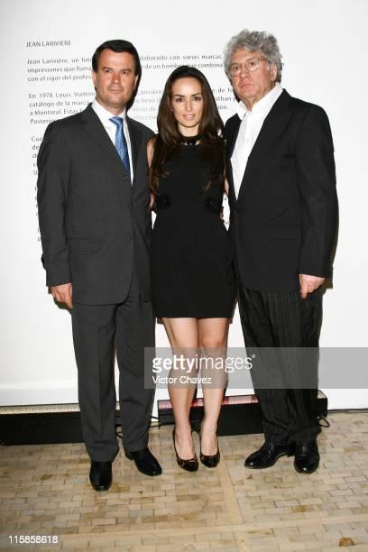 Frederick Murel CEO LV Latin America Ana De La Reguera and Jean Lariviere photographer