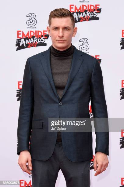 Frederick Schmidt attends the THREE Empire awards at The Roundhouse on March 19 2017 in London England