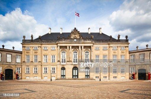 Frederick VIII's ( Brockdorff's ) Palace in Amalienborg - Copenhagen