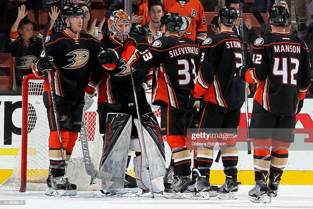 6bcab1a5d ... Stoner New Jersey Devils v Anaheim Ducks. Frederik Andersen 31, Simon  Despres 24, ...