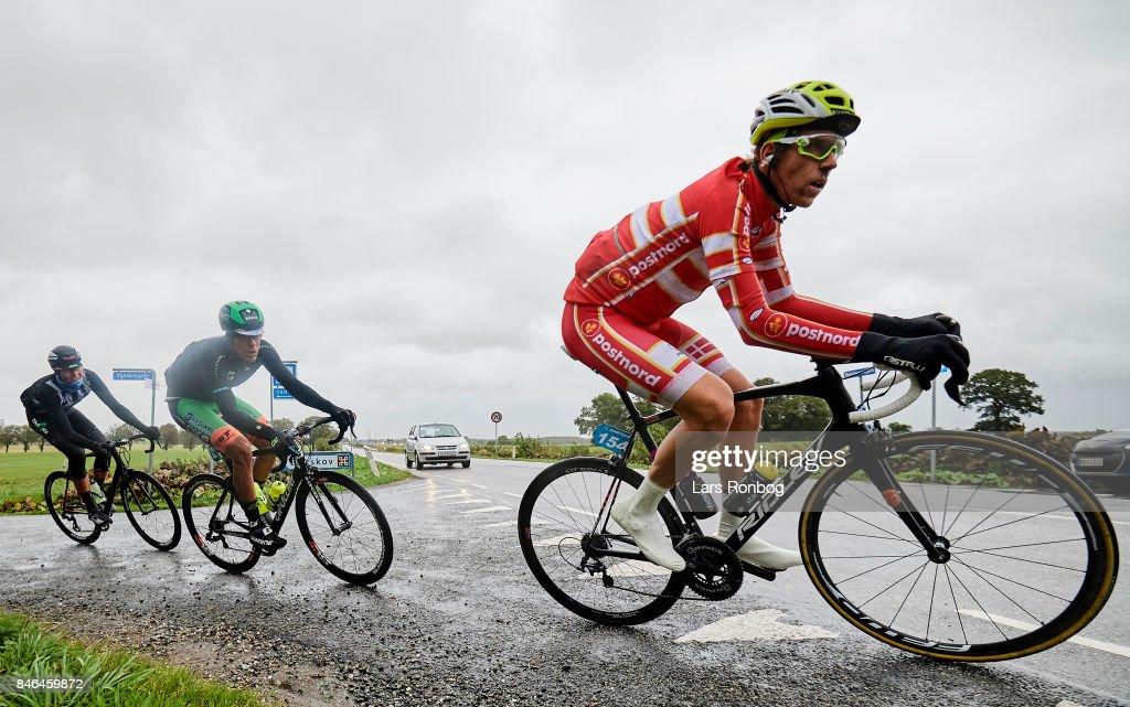 Frederik Muff Team PostNord Danmark in action during stage two of Tour of Denmark PostNord Danmark Rundt 2017 from Svendborg to Odense on September 13, 2017 in Svendborg, Denmark.
