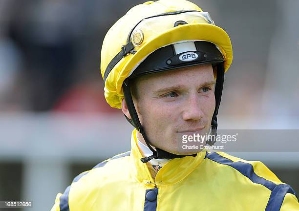 Frederik Tylicki at Ascot racecourse on May 10 2013 in Ascot England