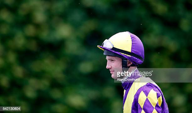 Frederik Tylicki poses at Salisbury racecourse on June 22 2016 in Salisbury England