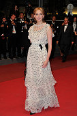 Frederique Bel at the premiere of 'Le Havre' during the 64th Cannes International Film Festival