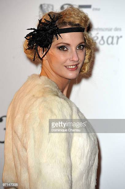 Frederique Bel attends the 35th Cesar Film Awards at Theatre du Chatelet on February 27 2010 in Paris France