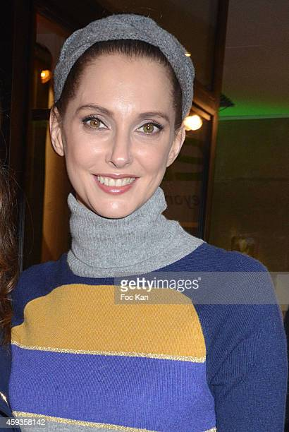 Frederique Bel attends the Acer Pop Up Store Launch Party at Les Halles on November 20 2014 in Paris France