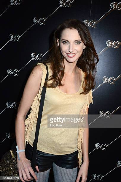 Frederique Bel attends the 'BO' Restaurant Opening at La Cite Du Cinema on October 10 2013 in SaintDenis France