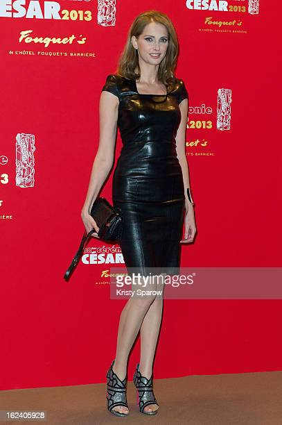 Frederique Bel attends the Cesar Film Awards 2013 at Le Fouquet's on February 22 2013 in Paris France