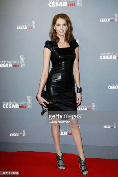 Frederique Bel attends the Cesar Film Awards 2013 at Theatre du Chatelet on February 22 2013 in Paris France