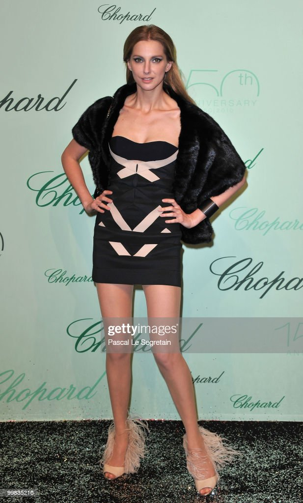 Frederique Bel attends the Chopard 150th Anniversary Party at Palm Beach, Pointe Croisette during the 63rd Annual Cannes Film Festival on May 17, 2010 in Cannes, France.