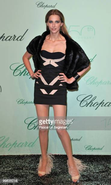 Frederique Bel attends the Chopard 150th Anniversary Party at Palm Beach Pointe Croisette during the 63rd Annual Cannes Film Festival on May 17 2010...