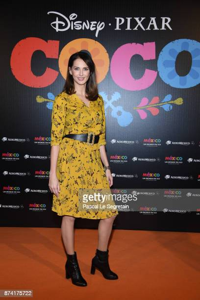 Frederique Bel attends the 'Coco' Paris Special Screening at Le Grand Rex on November 14 2017 in Paris France
