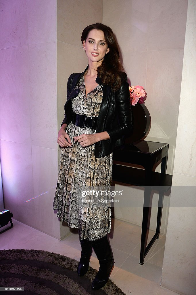 <a gi-track='captionPersonalityLinkClicked' href=/galleries/search?phrase=Frederique+Bel&family=editorial&specificpeople=622597 ng-click='$event.stopPropagation()'>Frederique Bel</a> attends the 'J'Aime La Mode' Cocktail Event Hosted by Chef Thierry Marx at Hotel Mandarin Oriental on September 23, 2013 in Paris, France.