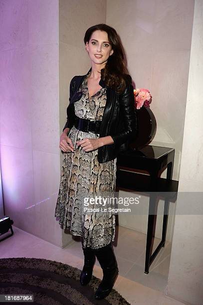 Frederique Bel attends the 'J'Aime La Mode' Cocktail Event Hosted by Chef Thierry Marx at Hotel Mandarin Oriental on September 23 2013 in Paris France