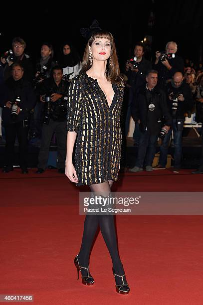 Frederique Bel attends the NRJ Music Awards at Palais des Festivals on December 13 2014 in Cannes France