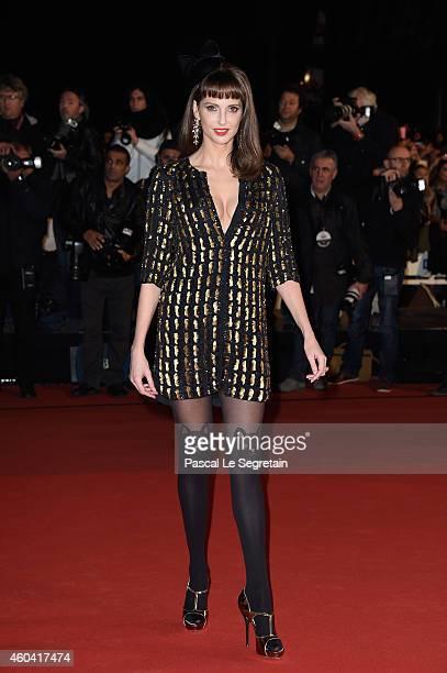 Frederique Bel attends the NRJ Music Awards at Palais des Festivals on December 13 2014 in Cannes France