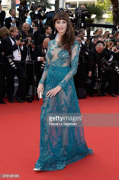 Frederique Bel attends the opening ceremony and premiere of 'La Tete Haute' during the 68th annual Cannes Film Festival on May 13 2015 in Cannes...