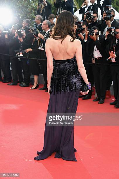Frederique Bel attends the 'Saint Laurent' Premiere at the 67th Annual Cannes Film Festival on May 17 2014 in Cannes France