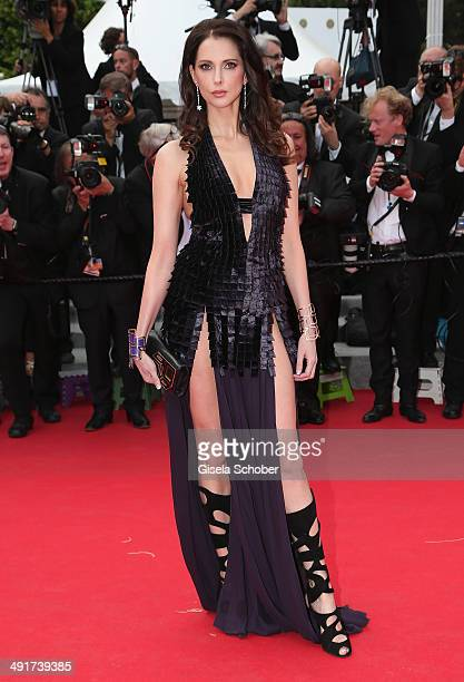 Frederique Bel attends the 'Saint Laurent' premiere during the 67th Annual Cannes Film Festival on May 17 2014 in Cannes France