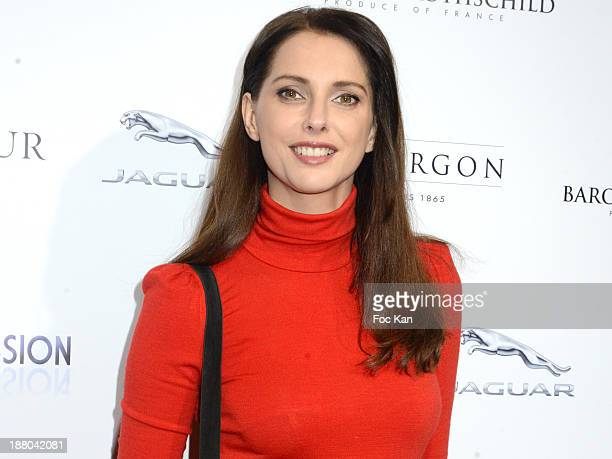 Frederique Bel attends the 'Winter Time 2013' Cocktail at L'Eclaireur Cafe on November 14 2013 in Paris France