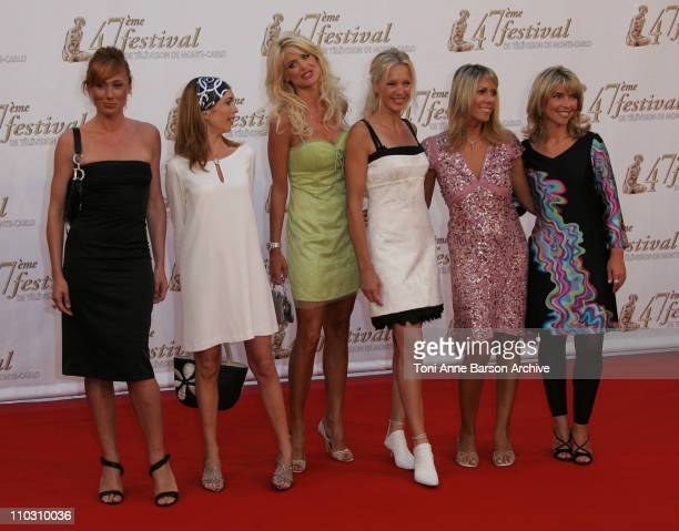 Frederique Courtadon Veronique Mounier Victoria Silvstedt Olivia Adriaco and Nathalie Vincent