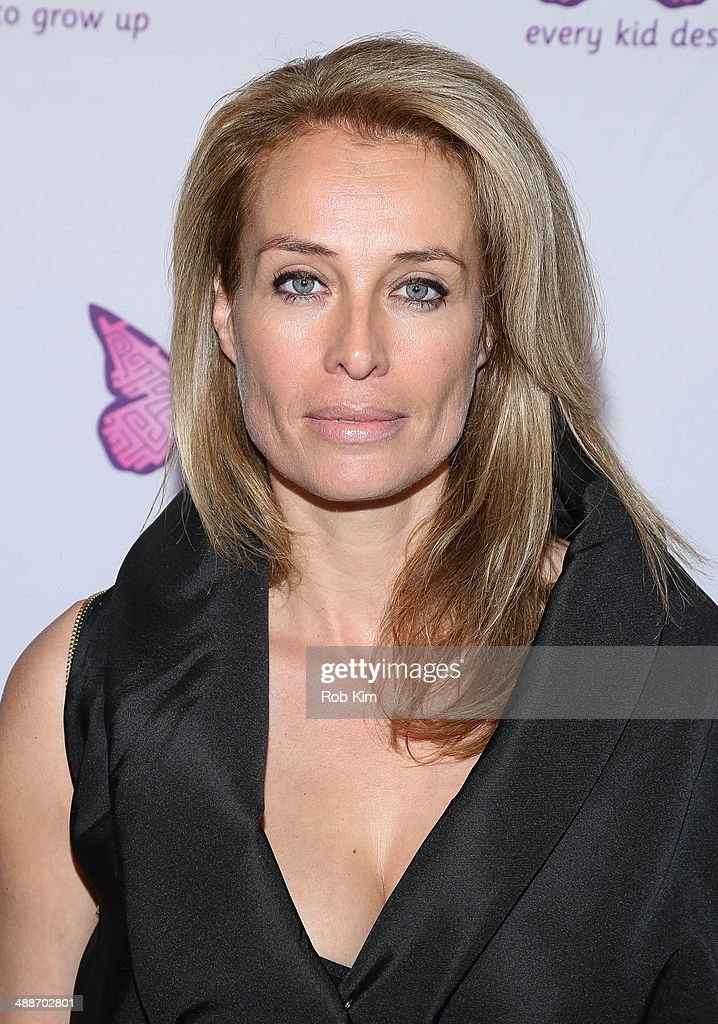 Frederique Van Der Wal attends the fifth annual Solving Kids' Cancer Spring Celebration at 583 Park Avenue on May 7, 2014 in New York City.