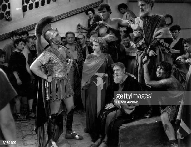 Fredric March and Elissa Landi star in Cecil B DeMille's moralising Roman film 'The Sign Of The Cross'