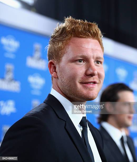 Fredrik Andersen of the Toronto Maple Leafs attends the 2016 NHL Awards at the Hard Rock Hotel Casino on June 22 2016 in Las Vegas Nevada