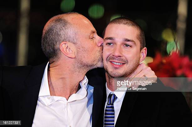 Fredrik Bond and Shia LeBeouf attend the 'The Necessary Death of Charlie Countryman' Premiere during the 63rd Berlinale International Film Festival...