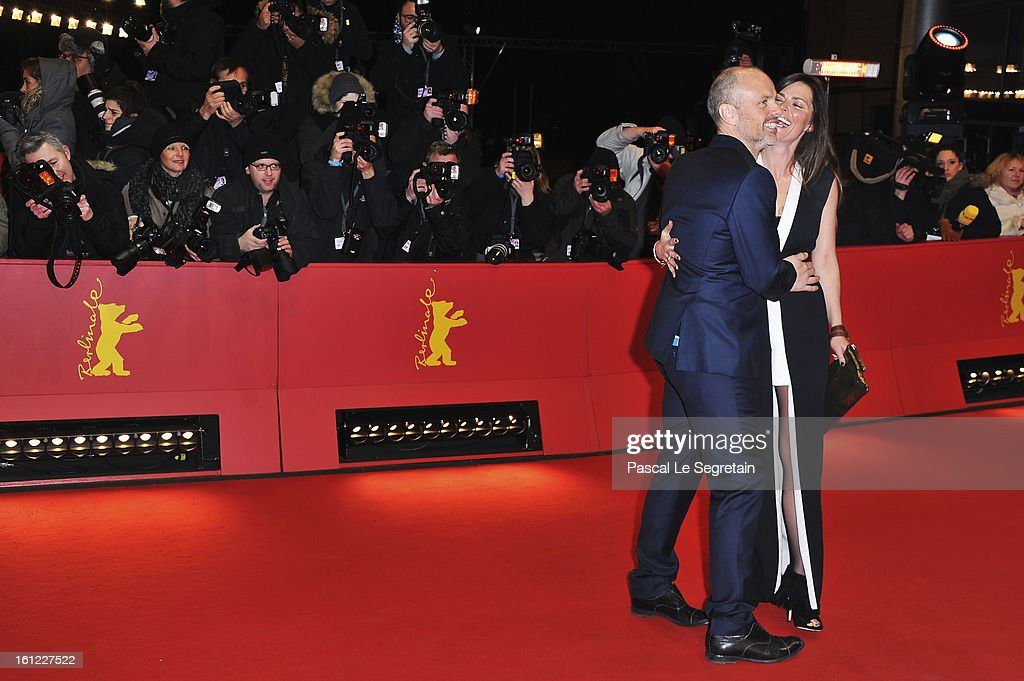 Fredrik Bond and wife attend the 'The Necessary Death of Charlie Countryman' Premiere during the 63rd Berlinale International Film Festival at Berlinale Palast on February 9, 2013 in Berlin, Germany.