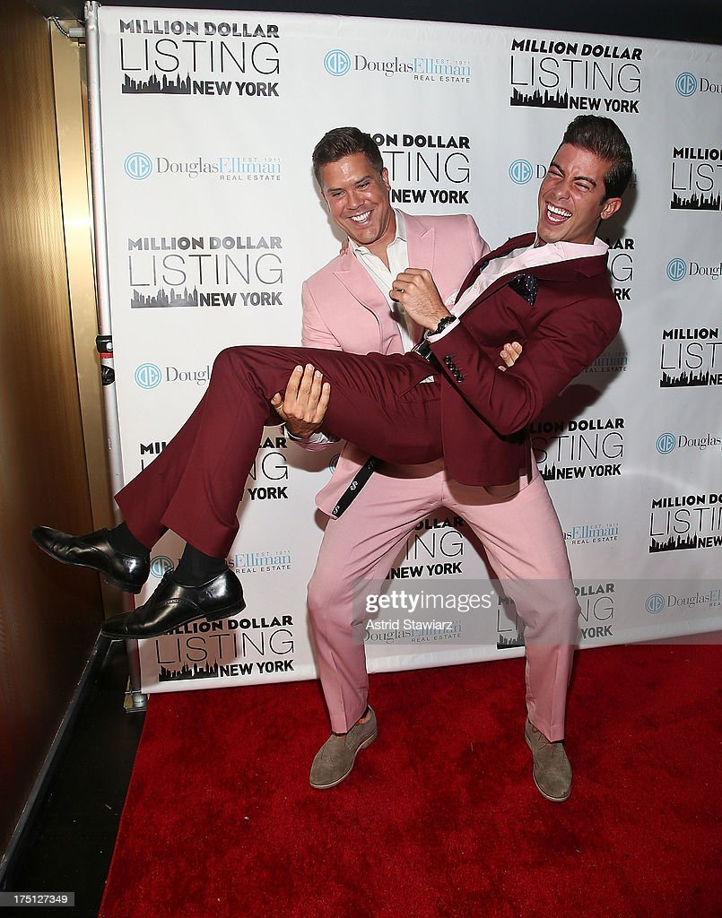 <a gi-track='captionPersonalityLinkClicked' href=/galleries/search?phrase=Fredrik+Eklund&family=editorial&specificpeople=9091185 ng-click='$event.stopPropagation()'>Fredrik Eklund</a> and <a gi-track='captionPersonalityLinkClicked' href=/galleries/search?phrase=Luis+D.+Ortiz&family=editorial&specificpeople=10784734 ng-click='$event.stopPropagation()'>Luis D. Ortiz</a> attend 'Million Dollar Listing' Season 2 Finale Party at The General on July 31, 2013 in New York City.