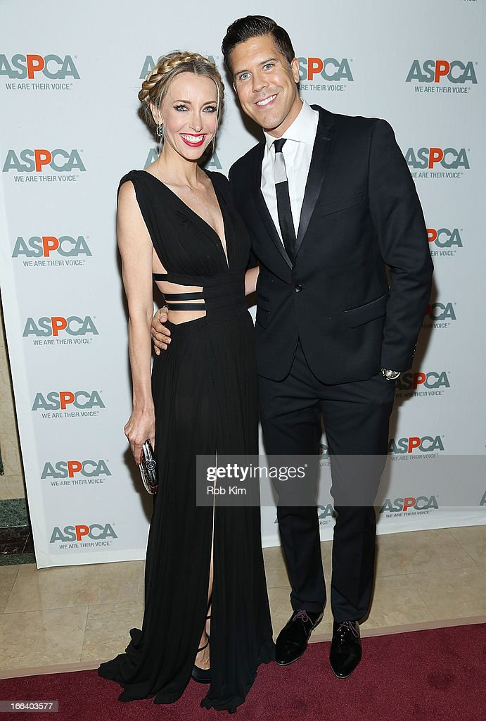 Fredrik Eklund and Melanie Lazenby attend the 16th Annual ASPCA Bergh Ball at The Plaza Hotel - 5th Avenue on April 11, 2013 in New York City.