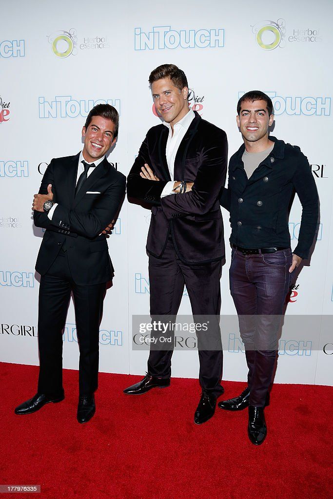 Fredrik Eklund and Million Dollar Listing participants arrive at Intouch Weekly's 'ICONS & IDOLS Party' at FINALE Nightclub on August 25, 2013 in New York City.