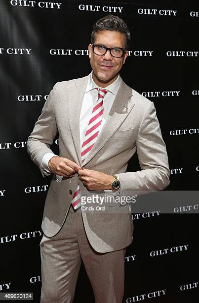 Fredrik Eklund attends the Gilt City celebration of his new book 'The Sell The Secrets Of Selling Anything To Anyone' on April 13 2015 in New York...