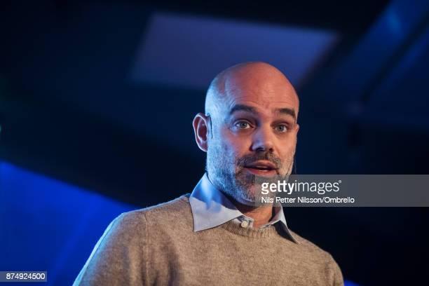 Fredrik Lindblad Digital Transformation Leader PwC during the Sime Awards at Epicenter on November 16 2017 in Stockholm Sweden