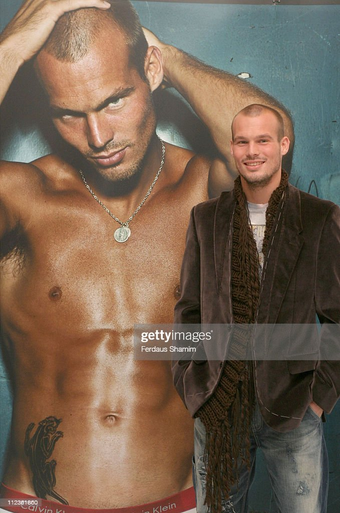 <a gi-track='captionPersonalityLinkClicked' href=/galleries/search?phrase=Fredrik+Ljungberg&family=editorial&specificpeople=167144 ng-click='$event.stopPropagation()'>Fredrik Ljungberg</a> during Calvin Klein Pro-Stretch at Selfridges at Selfridges in London, Great Britain.