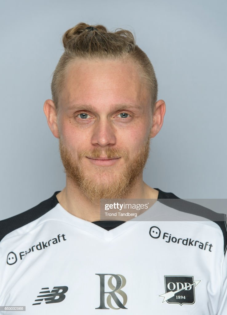 Fredrik Nordkvelle of Team Odd BK during Photocall on March 13, 2017 in Skien, Norway.