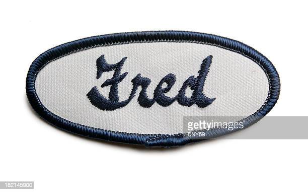 Fred's Name Tag