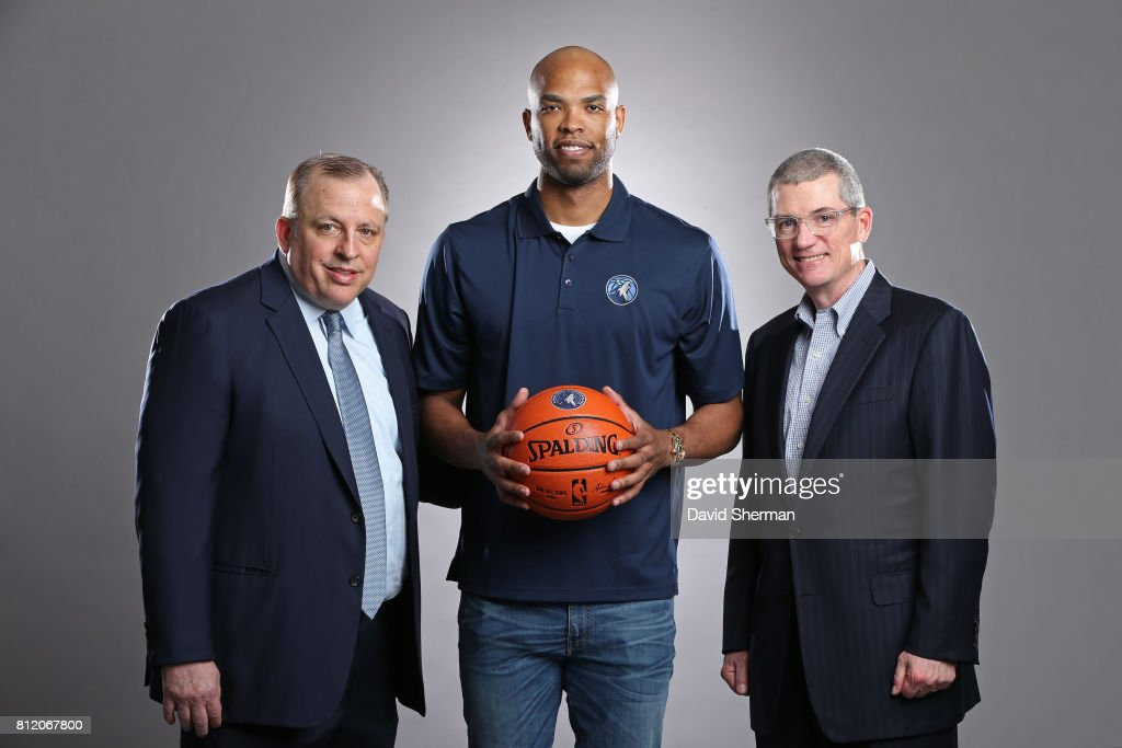 Minnesota Timberwolves Introduce New Player during Portraits