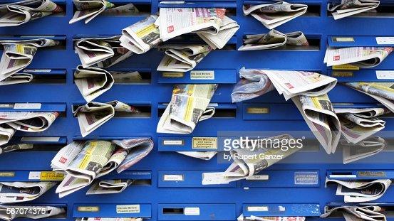 Free brochures : Stock Photo
