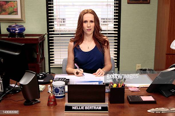 THE OFFICE 'Free Family Portrait Studio' Episode 824 Pictured Catherine Tate as Nellie Bertram